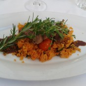 Barbarie-Entenbrust, Couscous