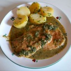 "Schnitzel in Bärlauchrahmsauce - Gasthof-Pension ""Zur Bruthenne"" - Furth/Triesting"