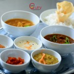 Kokosreis & Katta Sambal | Dhal |  Thajir Curry | Chicken Curry | Basmati ... - Ceylon Curry - Traiskirchen