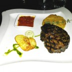 Tender Loin Steak (350g), Truffled Potato, Hot Mexican Chili Sauce - Harley Davidson - Clocktower American Bar & Grill - Graz