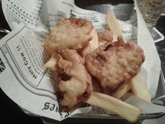"""Dublin Bay Fish and Chips"" - Molly Malone - Graz"