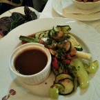 Grilled vegetables und die smokey honey Sauce - SPEISESAAL - Graz