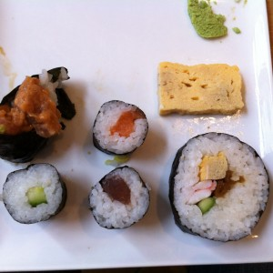 diverse Makis - Sakai - Taste of Japan - Wien