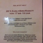 Early-Bird-Rabatt - Bodega Marques - Wien