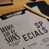 "Drinks ""Winter Specials"" - Mama Liu and Sons - Wien"