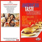TGI Friday's Catering-Flyer - TGI Friday's - Wien