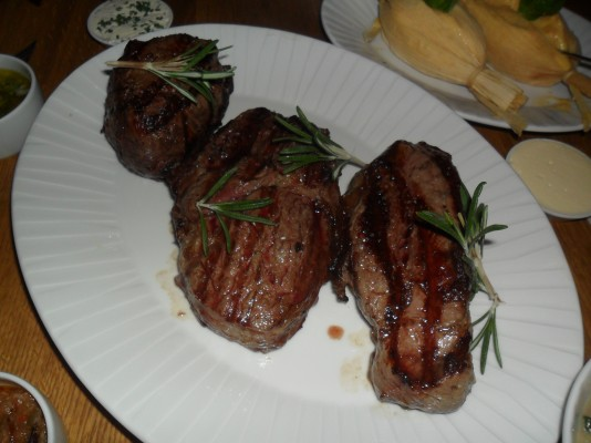 Steak-Sampler - El Gaucho - Wien