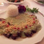 Rinderfilet mit grünem Curry - Green Cottage - Wien