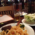 "Filet Steak mit ""Curly Fries"" - Hooters Kapfenberg (St. Lorenzen) - St. Lorenzen"