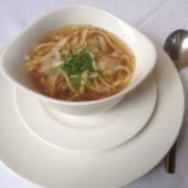 Frittatensuppe - Gasthaus Hintersee - Hintersee