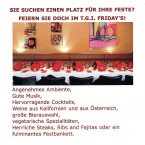 TGI Friday's Private Feste im TGI Friday's - TGI Friday's - Wien