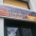 California Lounge Reklameschild - California Lounge - Wien