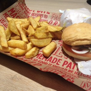 Slider mit Steak Fries - Burgerista - Wien