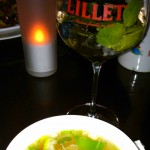 Wan Tan Suppe + Lillet