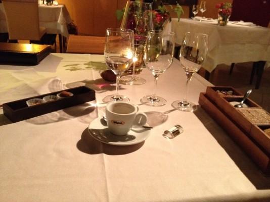 3x Petit Four Caffe Espresso Esszimmer Salzburg