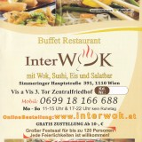 Interwok - Flyer - Buffet Restaurant Interwok - Wien