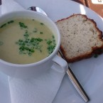 Potatoe Soup with home-made Soda Bread - O'Connors Old Oak - Wien