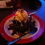 Double Chocolate Fudgy Brownie - TGI Friday's - Wien