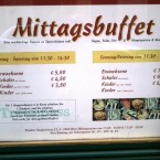 May Lee Werbung Mittagsbuffet - May Lee - Wien