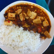 Chili con Tofu - Hot Spoon - Wien