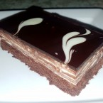 Double Chocolate Schnitte - WIP - Wien