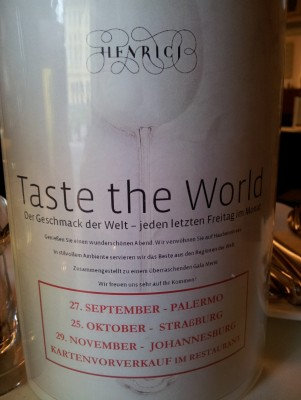 Taste of the World - HENRICI - Eisenstadt