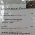 Speisekarte - Niedermair's Kaffee-Restaurant - Bad Schallerbach