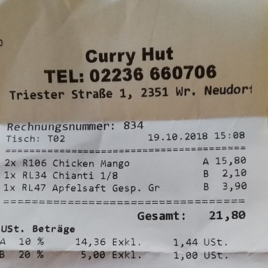 Curry Hut - Wr. Neudorf