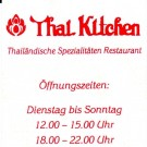 Thai Kitchen Visitenkarte