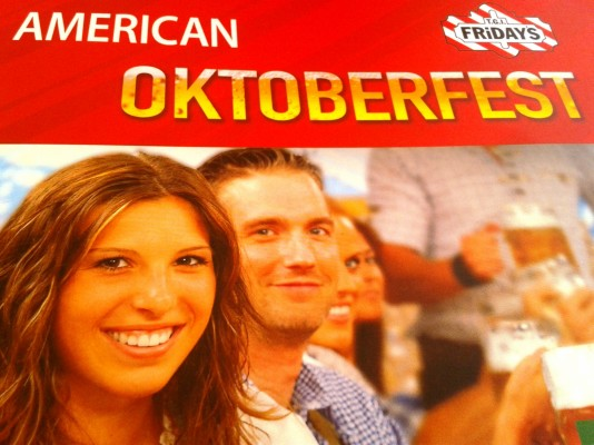 TGI Friday's Oktoberfest im TGI Friday's - TGI Friday's - Wien