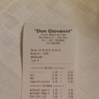 PIZZERIA DON GIOVANNI - Wien