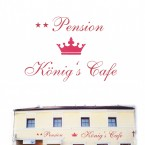 Pension König's Cafe Flyer - Hotel König Café-Restaurant - Wien