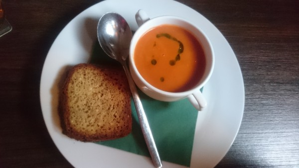 Tomato Soup with home-made Soda Bread - O'Connors Old Oak - Wien