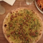 Pizza Guacamole vegan - Dellago - Wien