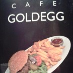 Café Goldegg - Goldegg Burger (EUR 9,90) - Cafe Goldegg - Wien