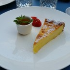 Cheesecake mit spicy Marillensauce - the Room – Sofiensäle - Wien