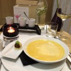 Kokos-Curry-Suppe - TIAN Restaurant Wien - Wien