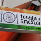 Taste Of India Außenreklame - Taste of India - Wien