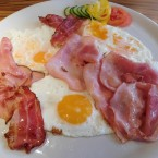 Ham and eggs - Steirercafe Wiedner - Lebring