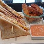 Club Sandwich - Cafe Bar Bloom - Wien