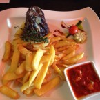 Tenderloin Steak mit Steakfries - Clocktower American Bar & Grill - Wien-Süd - Brunn am Gebirge
