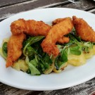 Backhendlsalat, top!