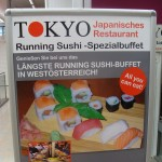 """Längste Running Sushi-Buffet in Westösterreich!"""