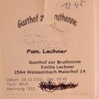 "Gasthof-Pension ""Zur Bruthenne"" - Furth/Triesting"