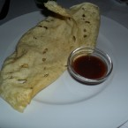 Papadam mit Chutney - India Gate - Wien
