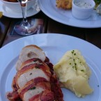Prosciutto Wrapped Chicken Breast, Stuffed with Buffalo Mozzarella, Champ ... - O'Connors Old Oak - Wien