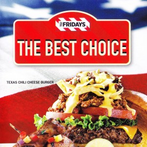 TGI Fridays - Flyer Nr. 01 - TGI Friday's - Wien