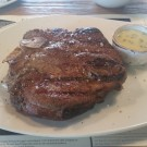 T-Bone Steak mit Aioli
