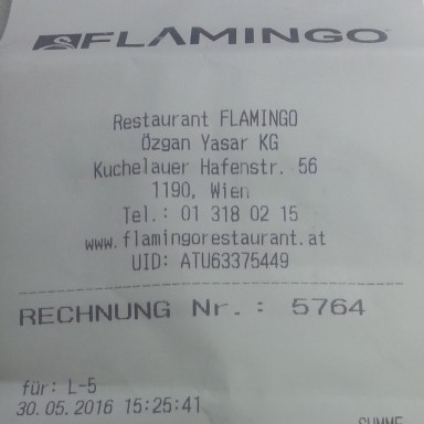 Restaurant Flamingo - Wien