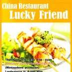 Lucky Friend - Flyer Seite 1 - China-Restaurant Lucky Friend - Wien